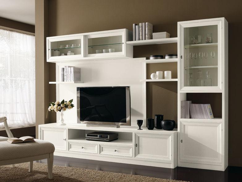 Soggiorno colore lilla idee per il design della casa - Colore parete soggiorno ...