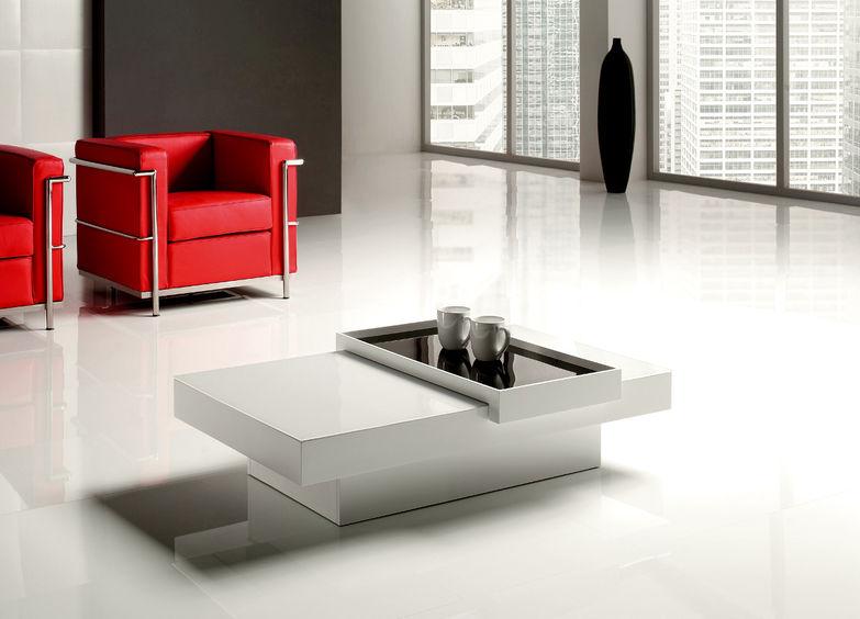 Tavolino da salotto rettangolare tom di target point for Tavolino salotto bianco laccato
